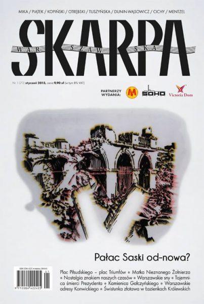 Okładka magazynu Skarpa Warszawska, 2014