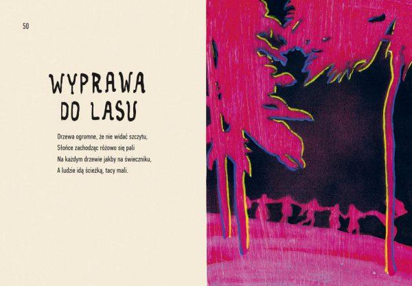 """Obrazy do wierszy Czesława Miłosza """"Świat. Poema Naiwne"""", wyd. Muchomor, 2012"""